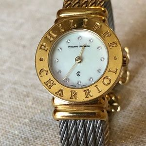 Philippe Charriol Diamond Mother of Pearl Watch